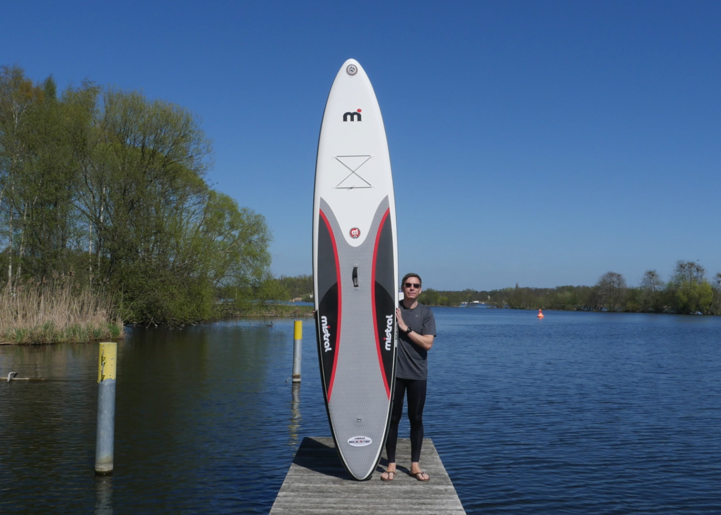 mistral equipe inflatable sup board test 04