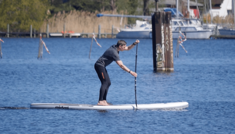 Mistral 12'6 Equipe Light im SUP Test