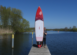 Fanatic Ray Air 12.6 SUP Board Test 12 250x179 - Fanatic Ray Air Premium Touring 12.6 im SUP Test