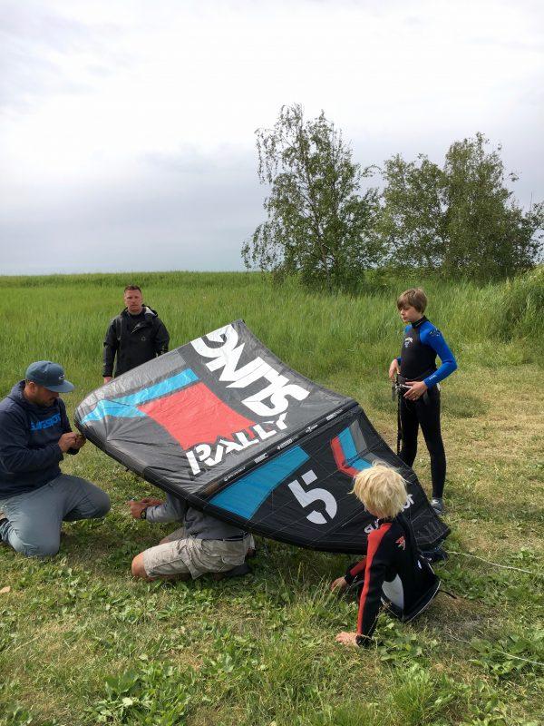 kitesurf kidscamp