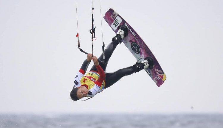 Kitesurf World Cup Freestyle-Finale am Südstrand von Fehmarn
