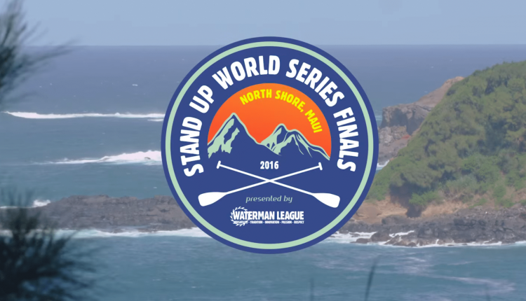 SUP – Stand Up World Series Finals Maui 2016