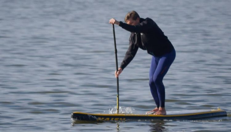 Naish One 2017 im Inflatable SUP Test