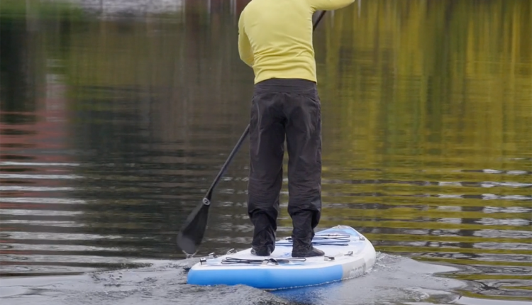 Mistral trecker SUP Board Test 02