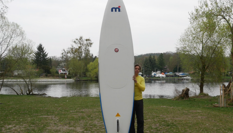 Mistral trecker SUP Board Test 12