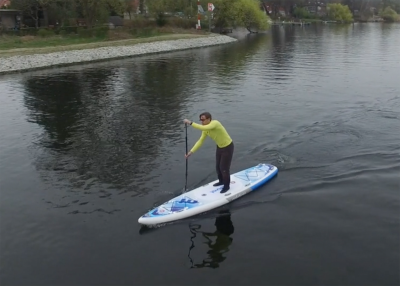 Mistral trecker SUP Board Test 14 400x286 - Mistral Trekker 12.6  im Inflatable SUP Test