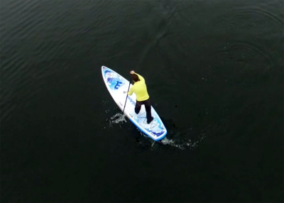 Mistral trecker SUP Board Test 15 400x286 - Mistral Trekker 12.6  im Inflatable SUP Test