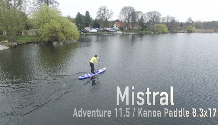mistral heritage 11-5 inflatable sup board test superflavor sup mag 18
