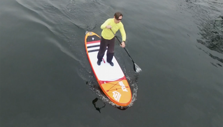 superflavor sup test fanatic fly air premium inflatable sup board 12