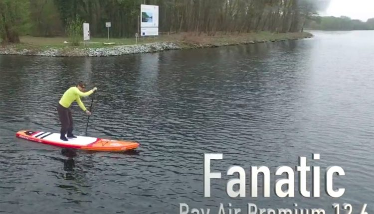 fanatic ray air premium im sup test