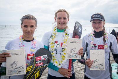 2017 SUP FEHMARN PM Damen 400x267 - Paulina Herpel und Kai-Nicolas Steimer sind neue Deutsche Meister im SUP Technical Race.