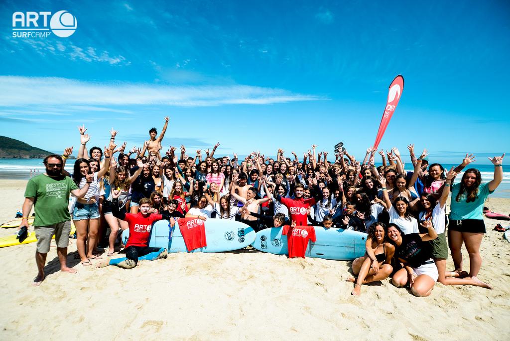art surf camp - erfolgreich wellenreiten lernen in spanien