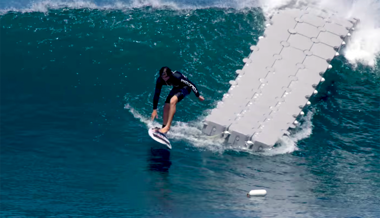 the dock surf video