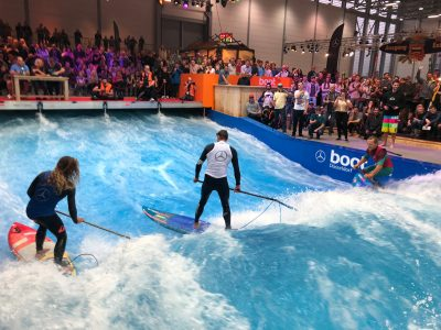 boot duesseldorf sup wave masters superflavor sup mag IMG 1606 400x300 - Foto-Highlights der boot Düsseldorf SUP Wave Masters 2018