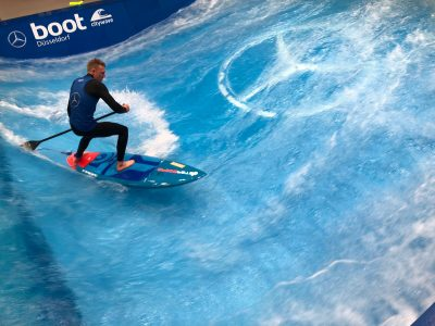 boot duesseldorf sup wave masters superflavor sup mag IMG 9817 400x300 - Foto-Highlights der boot Düsseldorf SUP Wave Masters 2018