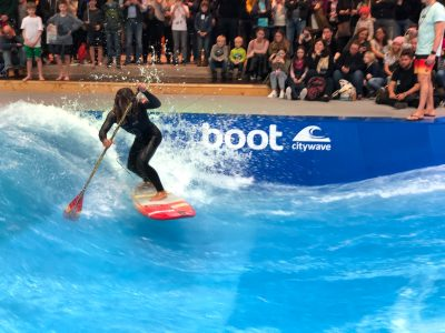 boot duesseldorf sup wave masters superflavor sup mag IMG 9949 400x300 - Foto-Highlights der boot Düsseldorf SUP Wave Masters 2018