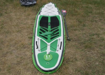 GTS Sportstourer 13 0 sup test superflavor 03 400x286 - GTS Sportstourer 13.0 im Inflatable SUP Board Test