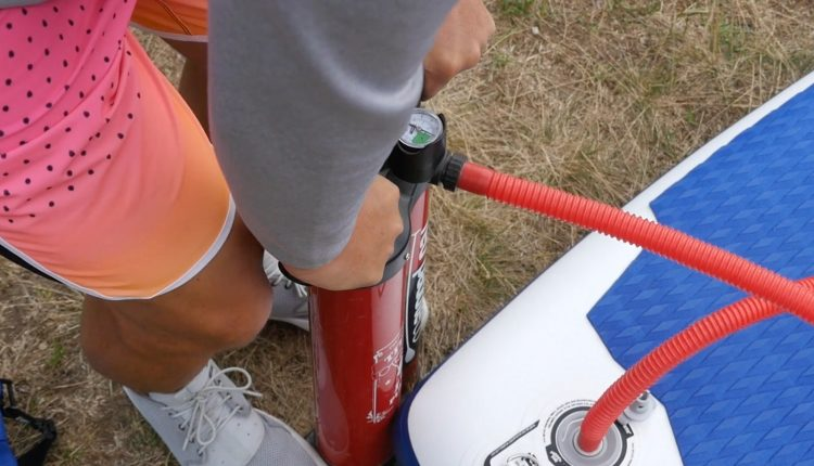 fanatic pure air superflavor sup board test 04
