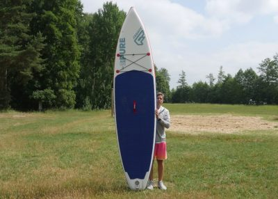 fanatic pure air superflavor sup board test 07 400x286 - Fanatic Pure Air Touring 11.6 im Inflatable SUP Board Test
