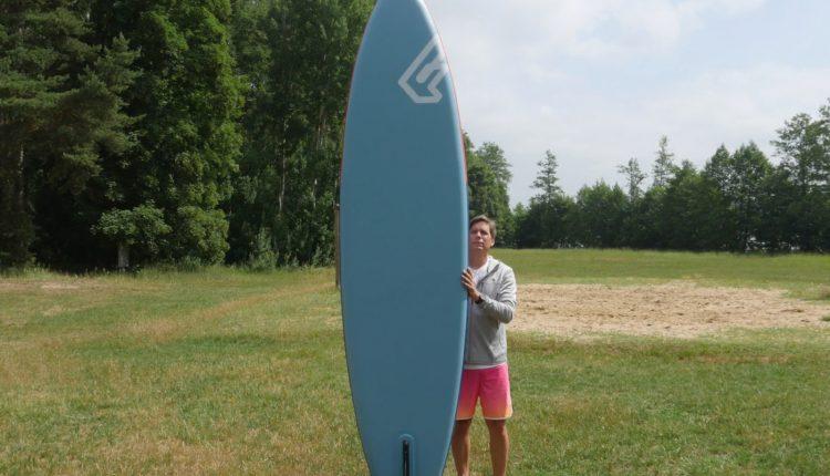 fanatic pure air superflavor sup board test 09