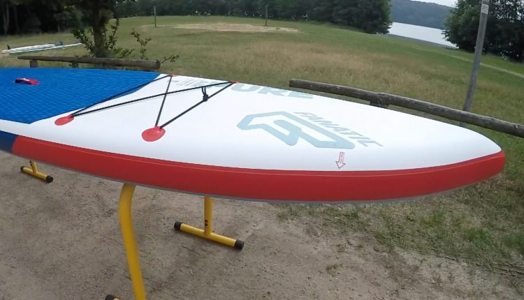 fanatic pure air superflavor sup board test 10