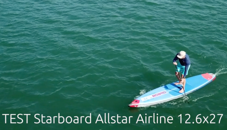 Starboard Allstar Airline Inflatable sup Board Test – Superflavor SUP Mag 01