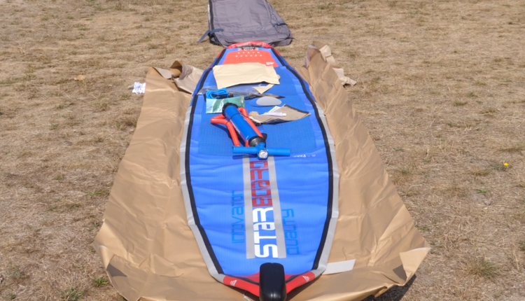 Starboard Allstar Airline Inflatable sup Board Test – Superflavor SUP Mag 07