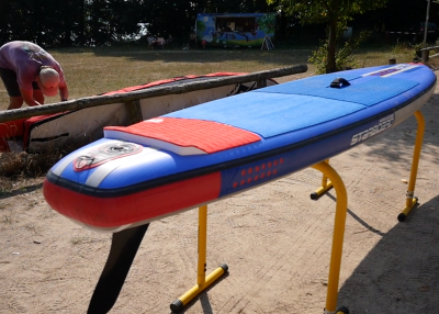 Starboard Allstar Airline Inflatable sup Board Test Superflavor SUP Mag 13 400x286 - Starboard Allstar Airline 12.6x27 im Inflatable SUP Board Test