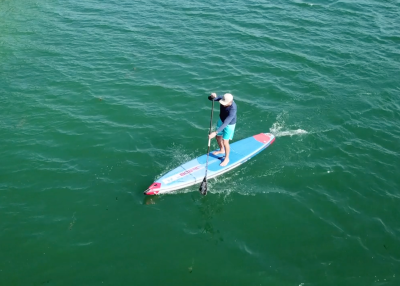 Starboard Allstar Airline Inflatable sup Board Test Superflavor SUP Mag 17 400x286 - Starboard Allstar Airline 12.6x27 im Inflatable SUP Board Test