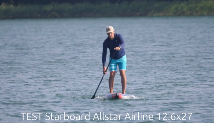 Starboard Allstar Airline Inflatable sup Board Test – Superflavor SUP Mag 19