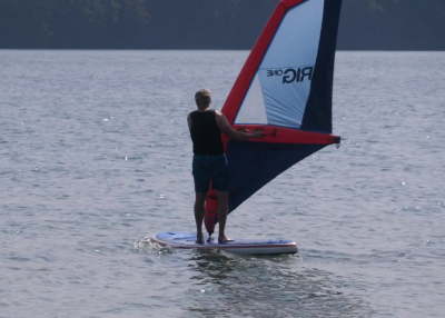 gts malibu inflatable sup board test superflavor sup mag 02 400x286 - GTS Malibu Surf 11.0 im Inflatable SUP Board Test