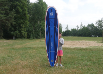 gts malibu inflatable sup board test superflavor sup mag 08 400x286 - GTS Malibu Surf 11.0 im Inflatable SUP Board Test