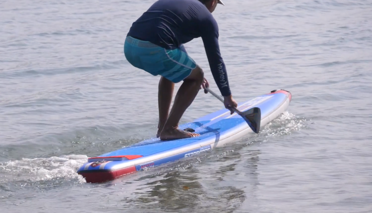 starboard airline allstar infalable sup board test – christian hahn superflavor sup mag 02