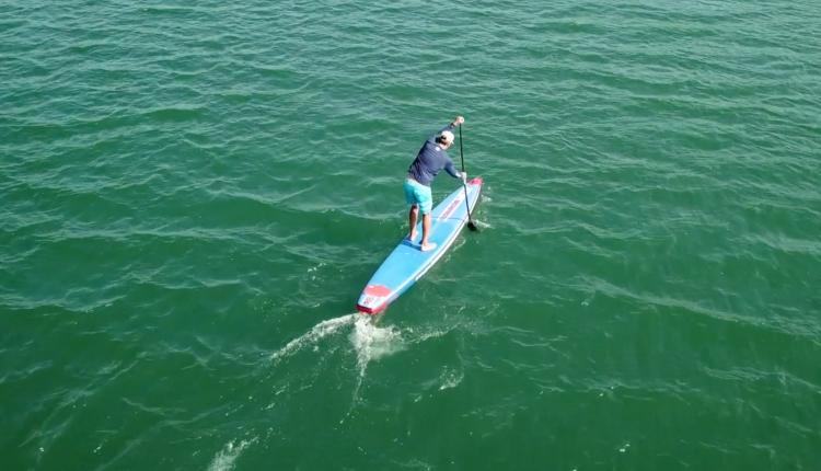 starboard airline allstar infalable sup board test – superflavor sup mag 17