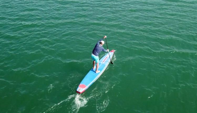 starboard airline allstar infalable sup board test – superflavor sup mag 18