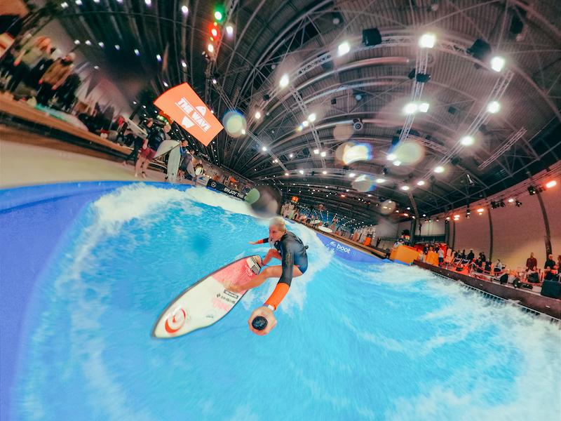 JANINA Zeitler - Wave Masters Finals auf der boot Düsseldorf 2019