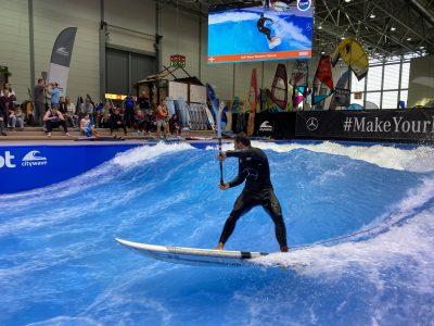 IMG 8195 400x300 - Fiona Wylde und Zane Schweitzer siegen bei den boot Düsseldorf SUP Wave Masters 2020