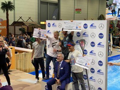 IMG 8249 400x300 - Fiona Wylde und Zane Schweitzer siegen bei den boot Düsseldorf SUP Wave Masters 2020